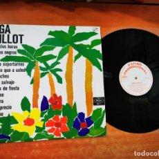 Discos de vinilo: OLGA GUILLOT CON LA ORQUESTA DE NACHO ROSALES LP VINILO PROMO ESPAÑA DEL AÑO 1966 CONTIENE 12 TEMAS. Lote 288530203