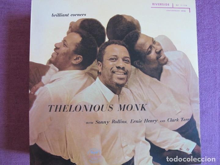 LP - THELONIOUS MONK - BRILLIANT CORNERS (SPAIN, RIVERSIDE 2010, CONTIENE FASCICULO) (Música - Discos - LP Vinilo - Jazz, Jazz-Rock, Blues y R&B)
