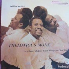 Discos de vinilo: LP - THELONIOUS MONK - BRILLIANT CORNERS (SPAIN, RIVERSIDE 2010, CONTIENE FASCICULO). Lote 288530818