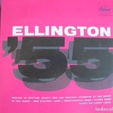 Discos de vinilo: LP - DUKE ELLINGTON - ELLINGTON 55 (SPAIN, CAPITOL RECORDS 2010, CONTIENE FASCICULO). Lote 288531798