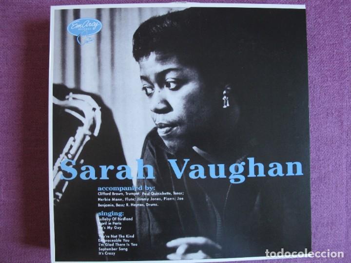 LP - SARAH VAUGHAN - SAME (SPAIN, EM ARCY RECORDS 2010, CONTIENE FASCICULO) (Música - Discos - LP Vinilo - Jazz, Jazz-Rock, Blues y R&B)