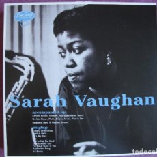 Discos de vinilo: LP - SARAH VAUGHAN - SAME (SPAIN, EM ARCY RECORDS 2010, CONTIENE FASCICULO). Lote 288532268