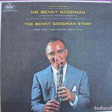 Discos de vinilo: LP - BENNY GOODMAN - THE BENNY GOODMAN STORY (HARRY JAMES, LIONEL HAMPTON, MARTHA TILTON). Lote 288532813