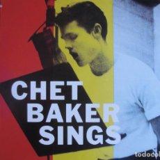 Discos de vinilo: LP - CHET BAKER - SINGS (SPAIN, EMI 2010, CONTIENE FASCICULO). Lote 288533148