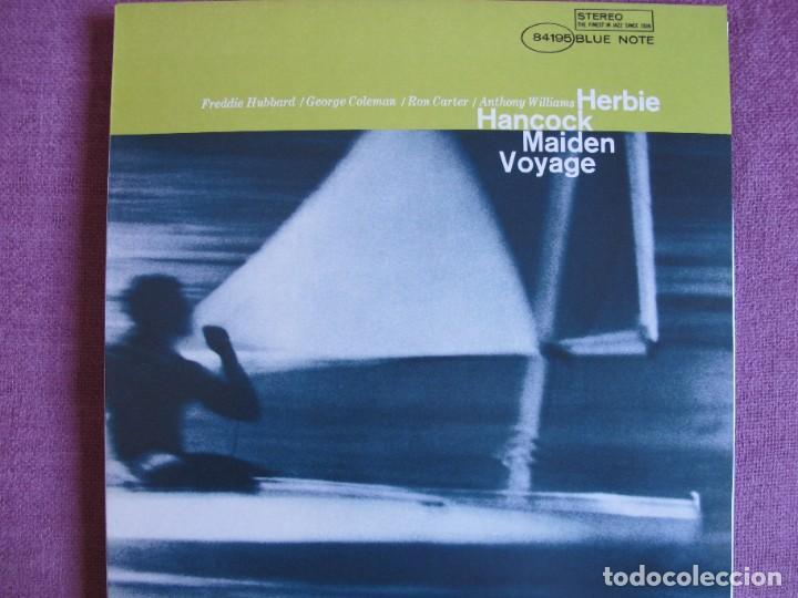 LP - HERBIE HANCOCK - MAIDEN VOYAGE (SPAIN, BLUE NOTE 2010, CONTIENE FASCICULO) (Música - Discos - LP Vinilo - Jazz, Jazz-Rock, Blues y R&B)