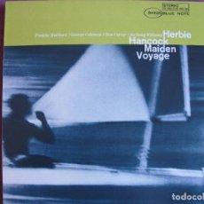 Discos de vinilo: LP - HERBIE HANCOCK - MAIDEN VOYAGE (SPAIN, BLUE NOTE 2010, CONTIENE FASCICULO). Lote 288534418