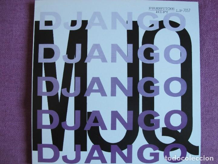 LP - THE MODERN JAZZ QUARTET - DJANGO (SPAIN, PRESTIGE RECORDS 2010, CONTIENE FASCICULO) (Música - Discos - LP Vinilo - Jazz, Jazz-Rock, Blues y R&B)