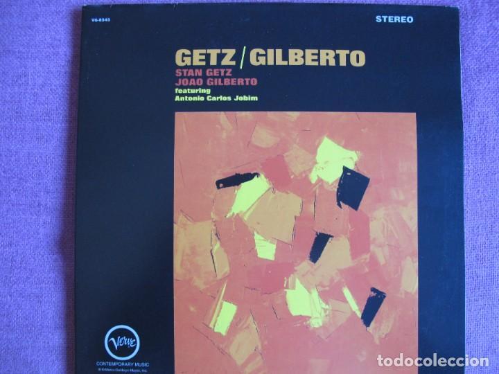 LP - STAN GETZ WITH JOAO GILBERTO - GETZ / GILBERTO (SPAIN, VERVE 2010, PORTADA DOBLE CON FASCICULO) (Música - Discos - LP Vinilo - Jazz, Jazz-Rock, Blues y R&B)
