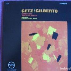 Discos de vinilo: LP - STAN GETZ WITH JOAO GILBERTO - GETZ / GILBERTO (SPAIN, VERVE 2010, PORTADA DOBLE CON FASCICULO). Lote 288535173