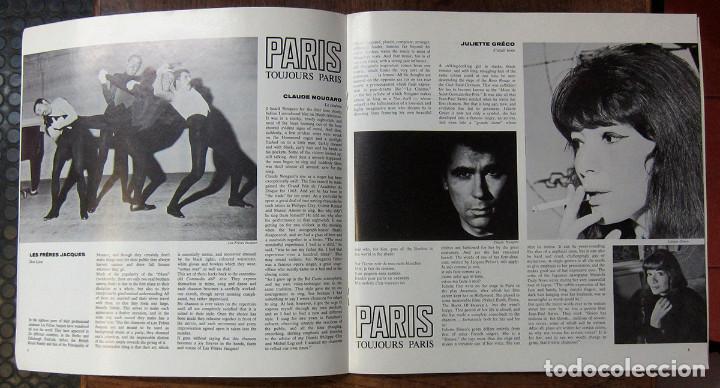 Discos de vinilo: PARIS, TOJOURS PARIS - CHANSON, PATACHOU, BRASSENS, GRECO, BREL, GAINSBOURG - Foto 3 - 288537133