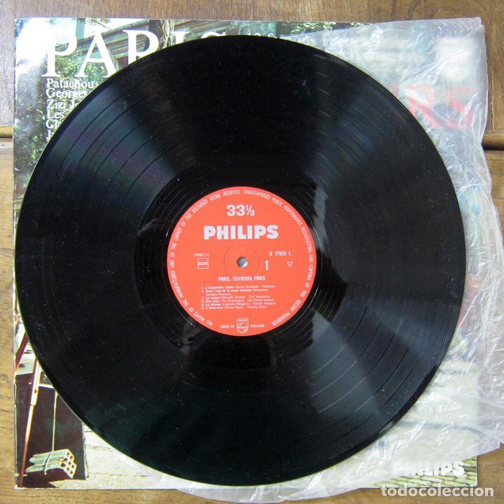Discos de vinilo: PARIS, TOJOURS PARIS - CHANSON, PATACHOU, BRASSENS, GRECO, BREL, GAINSBOURG - Foto 5 - 288537133