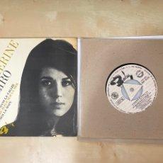 """Discos de vinilo: CATHERINE RIBEIRO - LE CHASSEUR + 3 - SINGLE 7"""" SPAIN 1966 PROMO - MUY RARO!. Lote 288538128"""