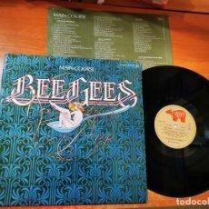 Discos de vinilo: BEE GEES MAIN COURSE LP VINILO DEL AÑO 1975 ENCARTE ESPAÑA BARRY GIBB ROBIN GIBB CONTIENE 10 TEMAS. Lote 288540548