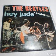 Discos de vinil: SINGLE THE BEATLES. HEY JUDE. REVOLUTION. ODEON 1968 SPAIN (BUEN ESTADO). Lote 288540693