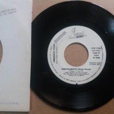 Discos de vinilo: UMBERTO TOZZI / IMMENSAMENTE (REMIX DANCE) / SINGLE 7 INCH PROMO UNA SOLA CARA. Lote 288544018