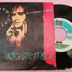 """Discos de vinilo: 7"""" STEVE HARLEY & COCKNEY REBEL – IRRESISTIBLE PORTUGAL PRESS (VG+/VG+). Lote 288544628"""