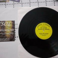 "Discos de vinilo: 12""EP LTD 300 RARO PROMO FUTURE SOUND OF LONDON PAPUA NEW GUINEA TRASLATIONS / THE LOVERS - DEMO. Lote 288545943"