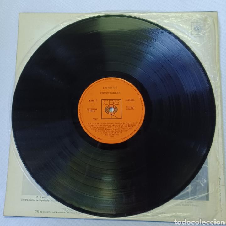 Discos de vinilo: SANDRO - ESPECTACULAR 1972 CBS - Foto 4 - 288547858