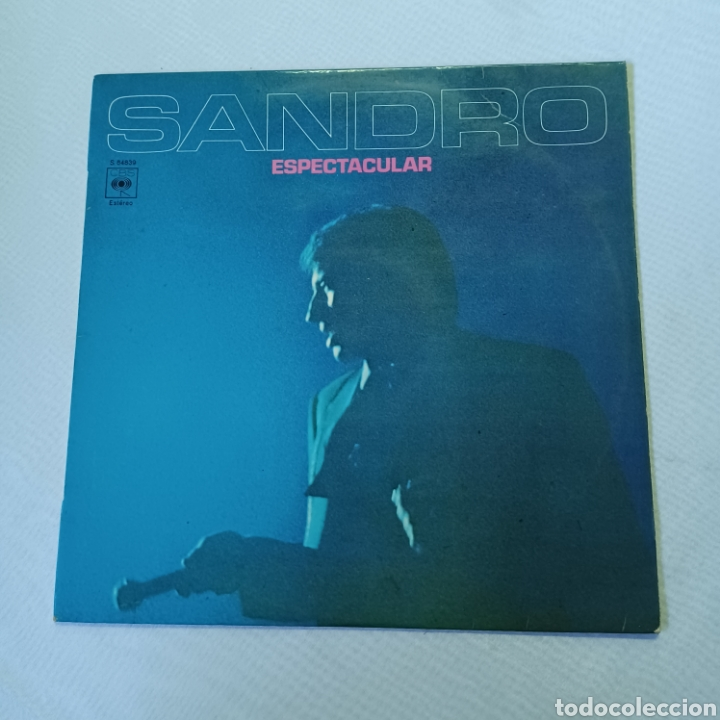 Discos de vinilo: SANDRO - ESPECTACULAR 1972 CBS - Foto 6 - 288547858