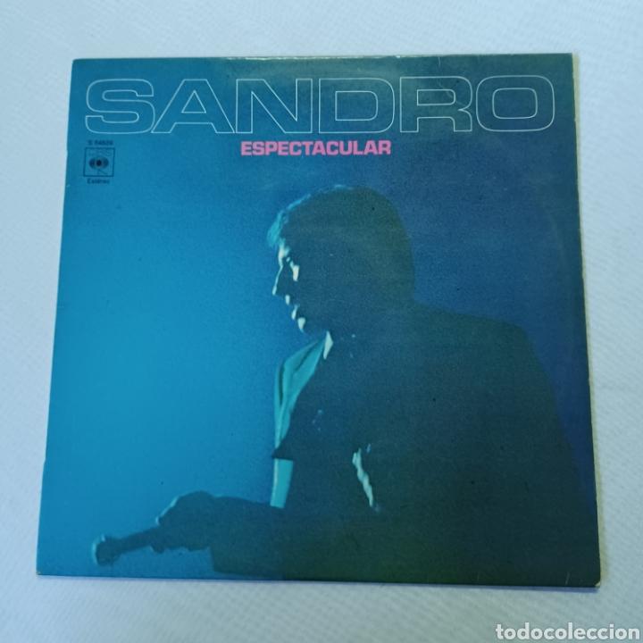 SANDRO - ESPECTACULAR 1972 CBS (Música - Discos - LP Vinilo - Solistas Españoles de los 70 a la actualidad)