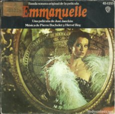 Discos de vinilo: EMMANUELLE - BSO DE LA PELÍCULA - HISPAVOX - 1975. Lote 288548273