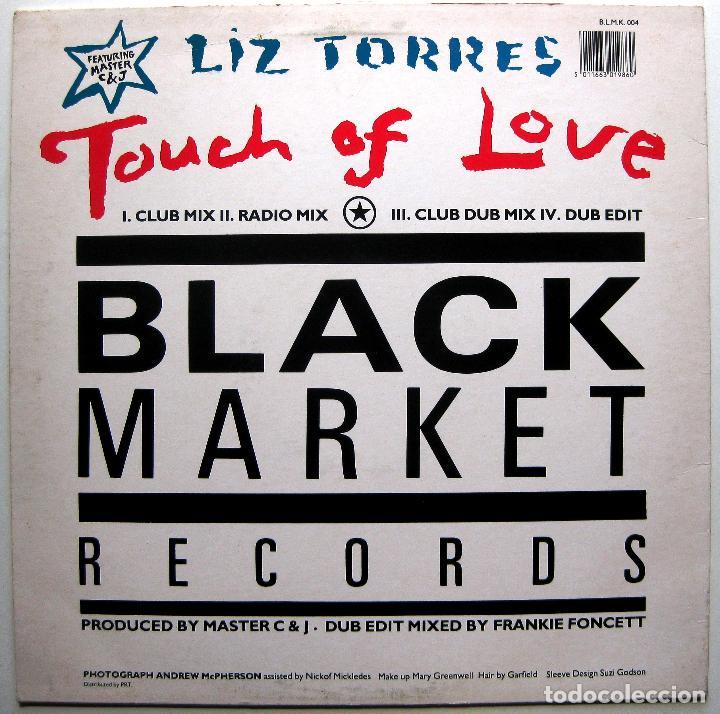 Discos de vinilo: Liz Torres Featuring Master C & J - Touch Of Love - Maxi Black Market Records 1988 BPY - Foto 2 - 288549488