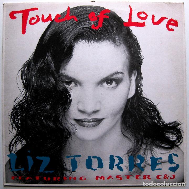 LIZ TORRES FEATURING MASTER C & J - TOUCH OF LOVE - MAXI BLACK MARKET RECORDS 1988 BPY (Música - Discos de Vinilo - Maxi Singles - Techno, Trance y House)