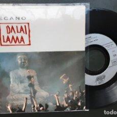 Discos de vinilo: MECANO, DALAI LAMA + LE 7 SEPTEMBRE (EN FRANCÉS). Lote 288554238
