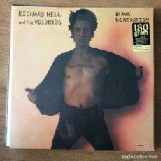 Discos de vinilo: RICHARD HELL & THE VOIDOIDS - BLANK GENERATION (1977) - LP REEDICIÓN SIRE NUEVO. Lote 288554588