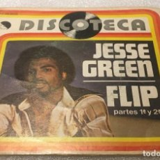Discos de vinilo: SINGLE JESSE GREEN - FLIP - EMI 10C006.98.648 - PEDIDO MINIMO 7€. Lote 288555343