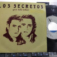 Discos de vinilo: LOS SECRETOS SINGLE QUE SOLO ESTÁS 1989. Lote 288557718
