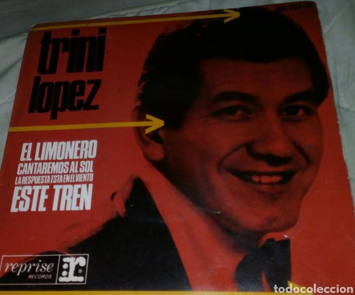 SINGLE EP TRINI LÓPEZ EL LIMONERO EDICIÓN ESPAÑOLA AÑO 1965 (Música - Discos de Vinilo - EPs - Pop - Rock Internacional de los 50 y 60)