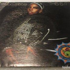Discos de vinilo: SINGLE MELBA MOORE - THIS IS IT - BUDDAH 20.11.292 - PEDIDO MINIMO 7€. Lote 288561733