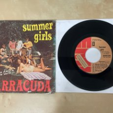 "Discos de vinilo: BARRACUDA - SUMMER GIRLS / I FEEL SO DOWN - SINGLE 7"" SPAIN 1973 PROMO. Lote 288562918"