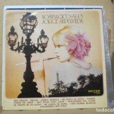 Discos de vinilo: JORGE SEPÚLVEDA - NOSTÁLGICO VOL. 3 - BELTER 22727 - 1973. Lote 288565108