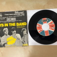 "Discos de vinilo: THE WAVE - BOYS IN THE BAND - SINGLE 7"" SPAIN 1970. Lote 288567148"