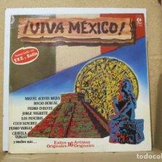 Discos de vinilo: CHAVELA VARGAS / PEDRO INFANTE / JAVIER SOLIS Y MAS - VIVA MEXICO - K-TEL SL 1014 - 1979. Lote 288568008