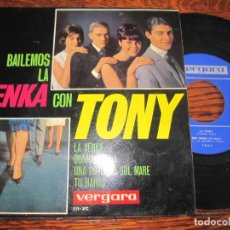 Discos de vinilo: TONY `LA YENKA´-´DONNA DONNA` 1965. Lote 288487838