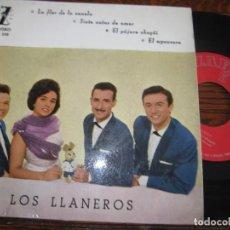 Discos de vinilo: LOS LLANEROS `LA FLOR DE CANELA´ 1961. Lote 288487918