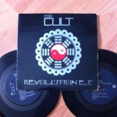 Discos de vinilo: THE CULT ´REVOLUTION EP´ DOBLE VINILO. Lote 288500293
