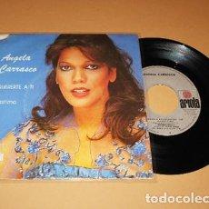 Discos de vinilo: ANGELA CARRASCO - QUERERTE A TI - SINGLE - 1979. Lote 288578348