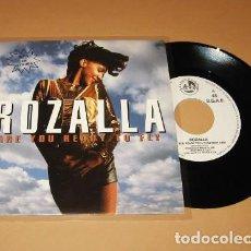 Discos de vinilo: ROZALLA - ARE YOU READY TO FLY - SINGLE - 1992. Lote 288580243