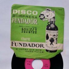 Discos de vinilo: DISCO FUNDADOR LOS TRES DE CASTILLA. Lote 288581303
