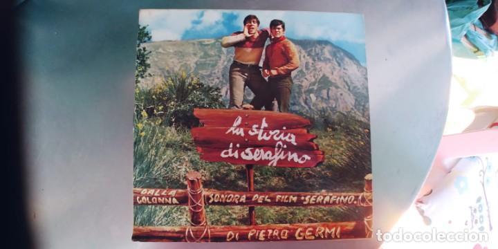Discos de vinilo: ADRIANO CELENTANO-SINGLE Storia DAmore-ESPAÑOL 1969-BUEN ESTADO - Foto 2 - 288581498