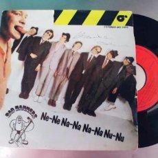 Discos de vinilo: BAD MANNERS-SINGLE NE NE NA NA NA NA NU NU.. Lote 288581768
