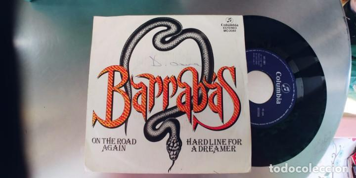 BARRABAS-SINGLE ON THE ROAD AGAIN (Música - Discos - Singles Vinilo - Grupos Españoles de los 70 y 80)