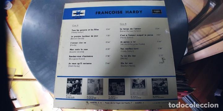 Discos de vinilo: FRANÇOISE HARDY-LP 1970-ESPAÑOL - Foto 2 - 288584003