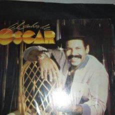 Discos de vinilo: OSCAR D' LEÓN – EL SABOR DE OSCAR LP VENEZUELA. Lote 288584548