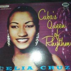 Discos de vinilo: CELIA CRUZ ACCOMPANIED BY SONORA MATANCERA – CUBA'S QUEEN OF RHYTHM LP. Lote 288584618