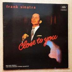 Discos de vinilo: FRANK SINATRA - CLOSE TO YOU (VINILO LP). Lote 288595203